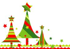 Christmas background, vector Stock Photos