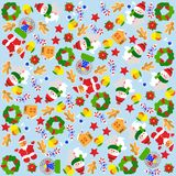 Christmas background. Vector graphic illustration design art Royalty Free Stock Images