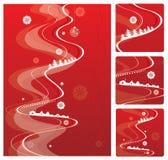 Christmas background, vector i Royalty Free Stock Photo