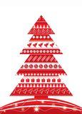 Christmas background, vector i Stock Images