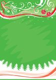 Christmas background, vector i Royalty Free Stock Photo
