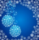 Christmas background. Vector illustration Royalty Free Stock Image
