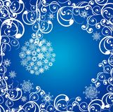 Christmas background. Vector illustration Royalty Free Stock Photography