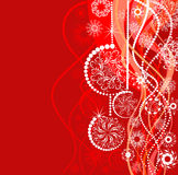Christmas background. Vector illustration  Royalty Free Stock Images