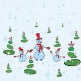 Christmas background. Vector illustration Royalty Free Stock Photo
