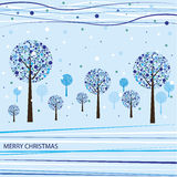 Christmas background. Vector illustration Stock Photo