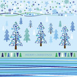 Christmas background. Vector illustration Stock Image