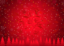 Christmas Background-Vector. Christmas Background is a  illustration Royalty Free Stock Photos