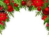 Christmas background Vector illustration. Stock Photo