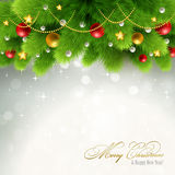 Christmas background Vector illustration Royalty Free Stock Photo