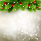 Christmas background Vector illustration Royalty Free Stock Image