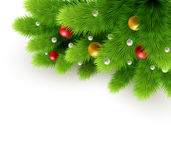 Christmas background Vector illustration Royalty Free Stock Photos