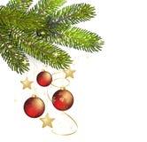 Christmas background Vector illustration Stock Photo