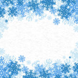 Christmas background. Christmas Vector Background With Snowflakes On Paper Royalty Free Stock Photo