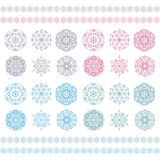 Christmas background, Vector  snowflakes pattern, Stock Photos