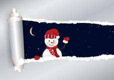 Christmas background in vector stock illustration