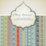 Christmas background / vintage style Royalty Free Stock Photography