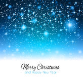 2014 Christmas Background with a waterfall of ray lights Royalty Free Stock Photos