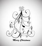 Christmas background  on white background. Christmas background  on white Royalty Free Stock Photo