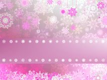 Christmas background with white snowflakes. EPS 8 Royalty Free Stock Photography