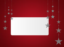 Christmas background with white text area Royalty Free Stock Photography
