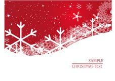 Christmas background - winter. Christmas background - snowflakes - illustration - winter royalty free illustration