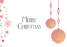 Christmas Background with wishes stock image