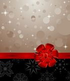 Christmas Background With Set Balls Stock Photography