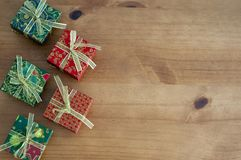 Christmas Background With Space To Write Message Royalty Free Stock Photo