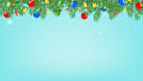 Christmas background  a work desk with a festive Christmas deco Royalty Free Stock Photography