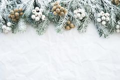 Christmas and New Year holiday background. Xmas greeting card. Winter holidays.