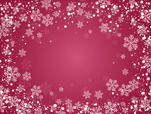 Christmas background for your design. Christmas background with snowflakes for your design stock photography