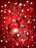 Christmas background for your Xmas greeting Stock Photos