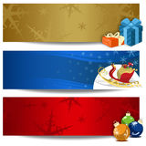 Christmas Backgrounds. Three different models of Christmas backgrounds Royalty Free Stock Images