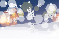 CHRISTMAS BACKGROUNDS. A picture desing background for festival christmas Stock Illustration