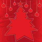 Christmas backgrounds. Red Christmas backgrounds with snowflake Royalty Free Stock Photography