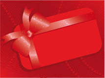 Christmas backgrounds. Red Christmas backgrounds with bow Stock Photo