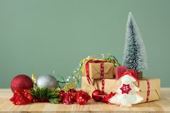 Christmas backgrounds 2018 Royalty Free Stock Image