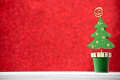 Christmas backgrounds. Christmas decor on the blur background royalty free stock photo
