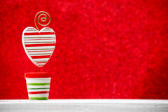 Christmas backgrounds. Christmas decor on the blur background Royalty Free Stock Photography