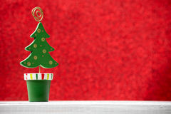 Christmas backgrounds. Christmas decor on the blur background royalty free stock photos