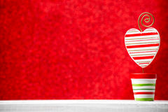 Christmas backgrounds. Christmas decor on the blur background stock image
