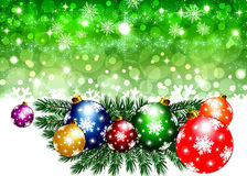 Christmas backgrounds - Illustration Stock Photography