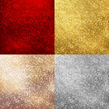Christmas backgrounds set Royalty Free Stock Photography