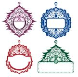 Christmas backgrounds,tags. Stock Photo