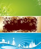 Christmas backgrounds, vector. Christmas winter backgrounds, vector illustration Stock Photos