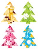Christmas backgrounds, vector. Christmas tree backgrounds, vector illustration Stock Image