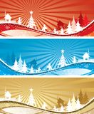 Christmas backgrounds, vector stock illustration