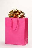 Christmas Bag. Ready to go under the tree Stock Image