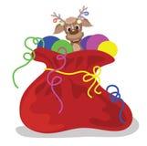 Christmas bag Royalty Free Stock Image